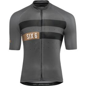 AGU Six6 Classic Maglietta jersey a maniche corte Uomo, grey